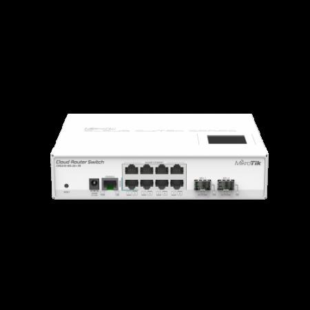 MikroTik CRS210-8G-2S+IN